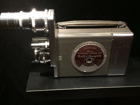 Camera, Former, Cinema, Appliances, Filming