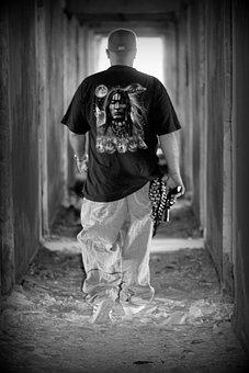 Man, Gangster, Pistol, Weapon, Cap