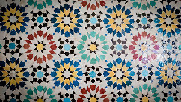 Mosaic, Ceramic, Facade, Ceramic Mosaic, Pattern