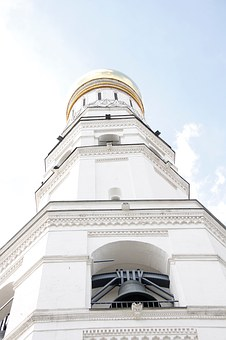 Church, Golden, Dome, Russia, Moscow, Orthodox