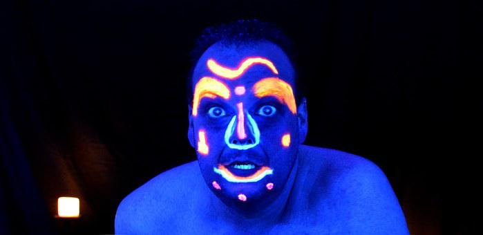 Uv Photography, Black Light, Uv Eyeshadow, Color