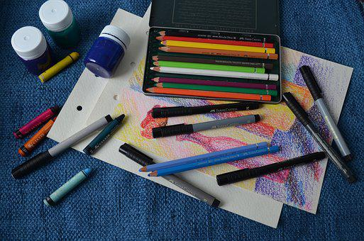 Pencils, Art, Design, Creative, Creativity, Drawing
