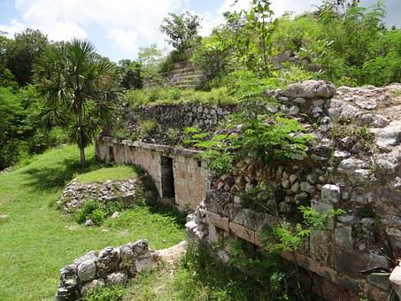 Maya, Mayan, Ancient, Mexico, Culture, Stone, Yucatan