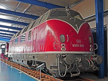 Diesel Locomotive, V200, Db, Economic Miracle