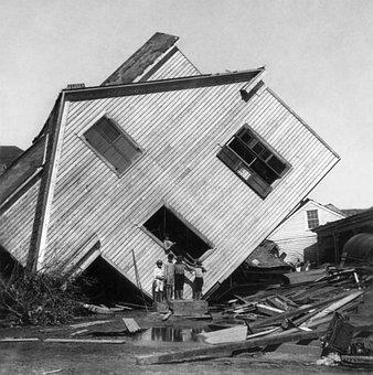 Hurricane, Devastation, Destruction, Galveston, Texas