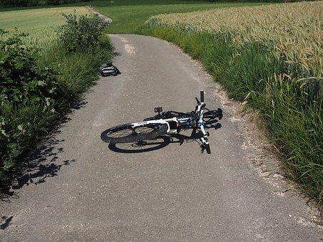 Bike, Accident, Mountain Bike, Fell Down, Fall