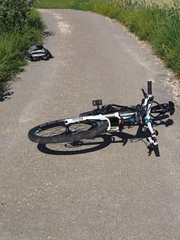 Bike, Accident, Mountain Bike, Fell Down, Fall