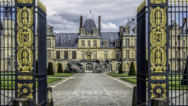 Castle Of Fontainebleau, Residence, Royal, French