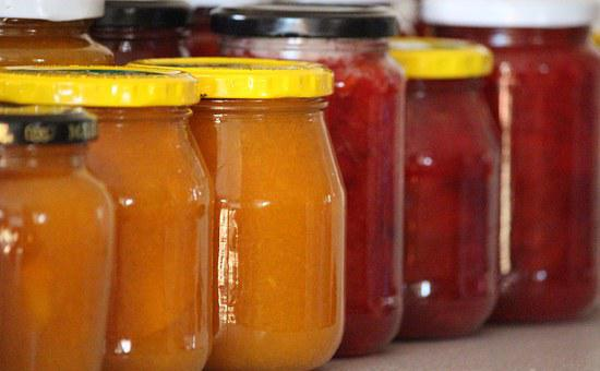 Jam, Glasses, Boil Down, Delicious, Sweet, Fruits
