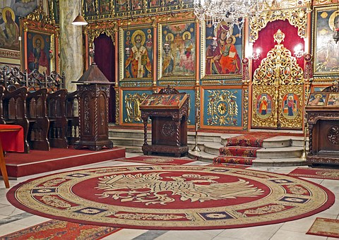 Church, Prayer Room, Orthodox, Bulgarian, Gilded