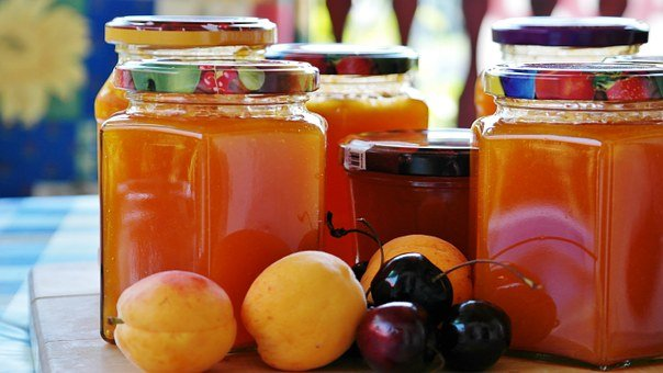 Jam, Apricots, Cook, Preparations, Glasses, Fruit
