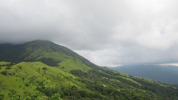 Mountains, Karnataka, Kumara, Parvatha, Kukke, India