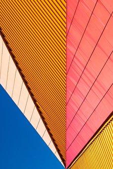 Agora Theatre, Lelystad, Netherlands, Colorful, Theatre