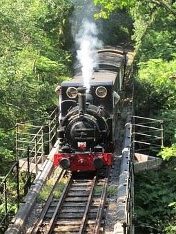 Steam Train, Wales, Train, Railway, Engine, Locomotive