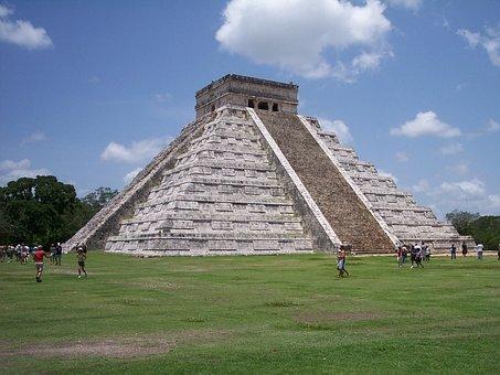 Mayan, Maya, Ancient, Mexico, Temple, Stone, Mexican