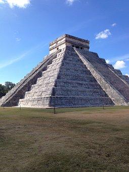 Mayan Ruins, Mayan, Ruins, Ancient, Temple