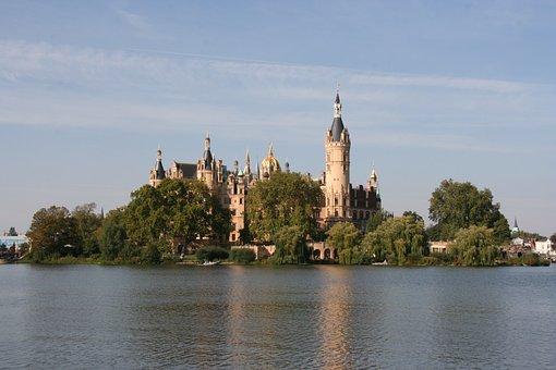 Schwerin, Castle, Mecklenburg Western Pomerania