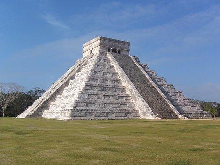 Mexico, Chichén Itzá, Yucatan, Maya, Mayan Pyramid