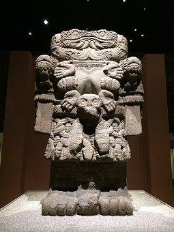 Museum, Aztecs, Museum Of Anthropology, Mexico