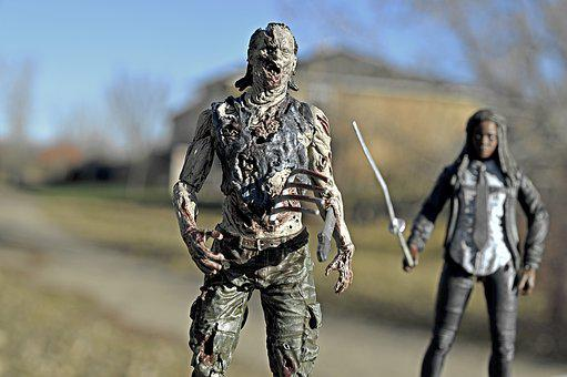 Zombie, Walking Dead, Michonne, Sword, Undead