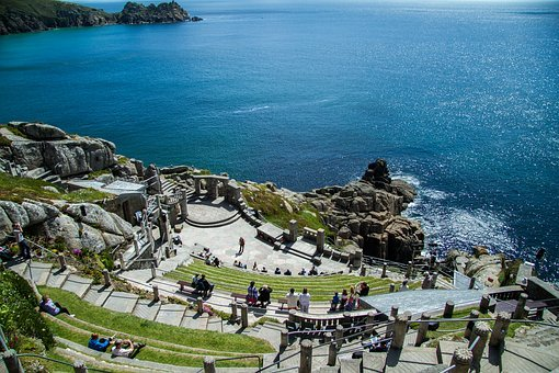 Minack Theater, Cornwall, South Gland