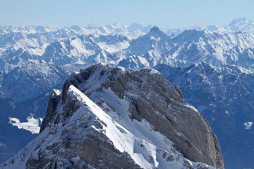 Mountains, Mountain Summit, Summit, Alpine, Alps