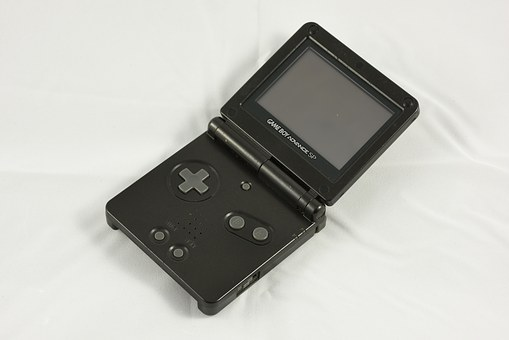 Gameboy Advance Sp, Nintendo, Video Game, Handheld