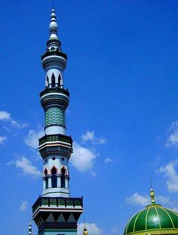 Menara, Masjid, Pagak, Malang, Jawa Timur, Indonesia
