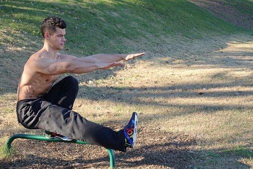 Pistol Squat, Bodyweight Training, Calisthenics, Sport
