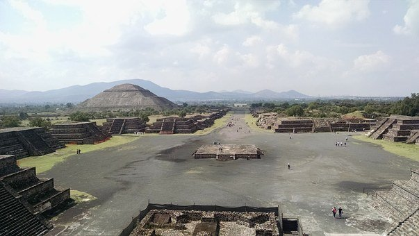 Teotihuacan, Temple, Pyramid, Ancient, Mexico, City