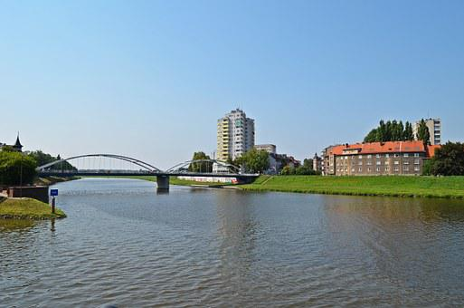 Opole, City, River, Measles, Buildings, Tourism
