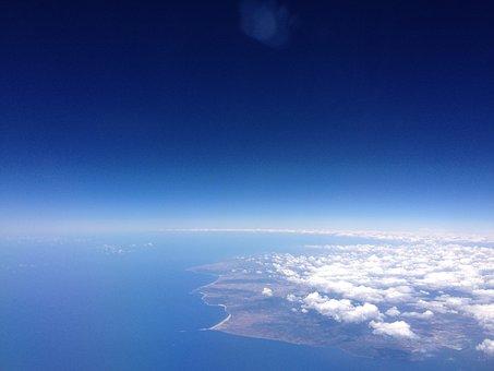 Plane View, Spain, Gibraltar, Aircraft, Morocco