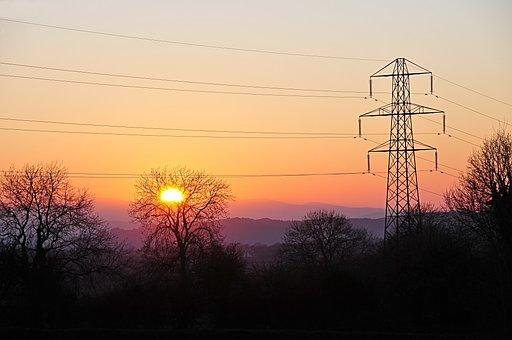 Spring Sunset, Near Snowden, Wales, United Kingdom
