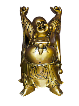 Buddha, Religion, Statue, Gold, Png, Thailand