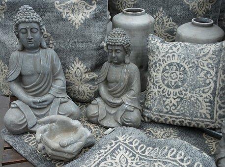 Buddha, Buddha Figure, Stone Figure, Meditation