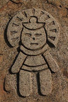 The Aztecs, Stone, History