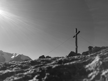 Rotbachlspitz, Mountains, Summit, Summit Cross