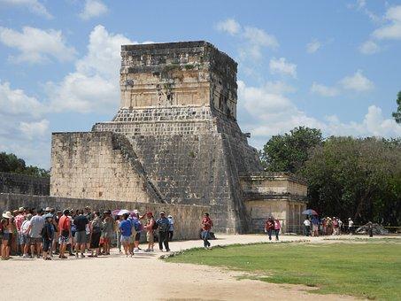 Mexico, Coba, Temple, Ruin, Aztecs, Inca, Maia