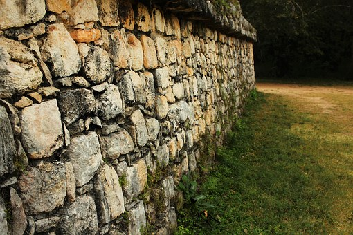 Mayan, Wall, Pyramid, Forest, Archaeological, Temple