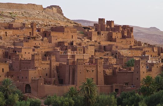 Ait Ben Haddou, World Heritage, Morocco, Oasis Town
