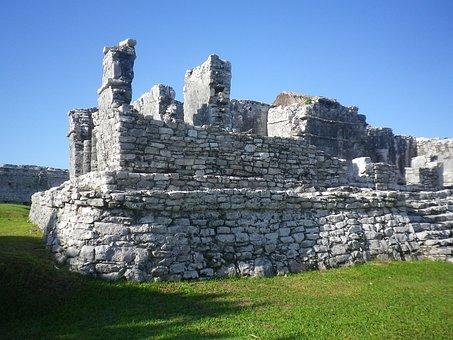 Mexico, Mayan, Yucatan, Archaeological