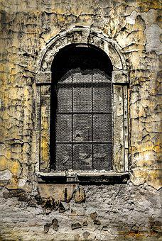 Window, Plaster, Architecture, Old, Building
