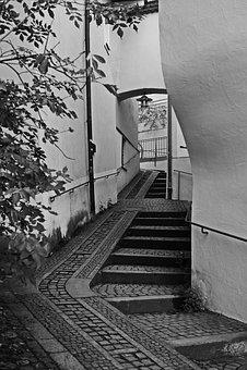 Passau, Alley, Architecture, Atmospheric, Bavaria