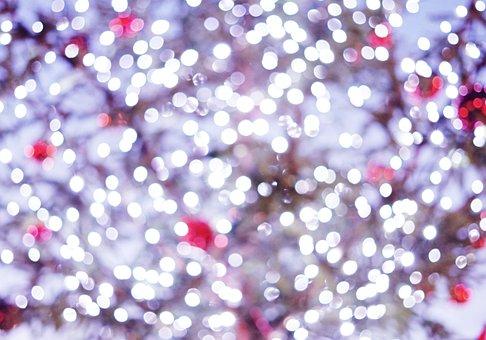 Bokeh, Christmas, Background, Christmas Time, Magic