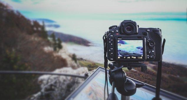 Photographer, Camera, Equipment, Photography, Digital