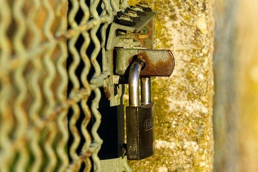 Castle, Closed, Locked, Shut Off, Imprisoned, Fence