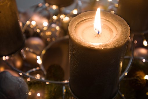 Candles, Christmas, Advent, Candlelight, Decoration