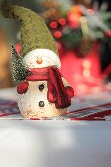 Christmas, Christmas Time, Snowman, Decoration