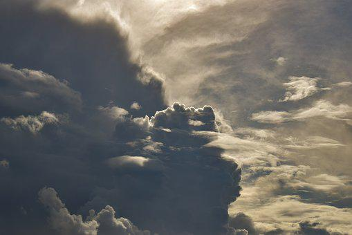 Clouds, Dramatic, Sky, Weather, Atmosphere, Cloudscape