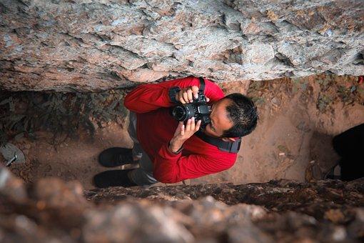 Photographer, Camera, Photo, Focus, Portrait, Color